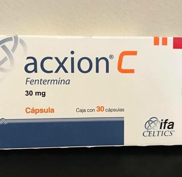 Name: Acxion C Generic name: Phentermine Strength: 30 mg