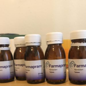 Name: Farmapram Generic name: Alprazolam Strength: 2mg