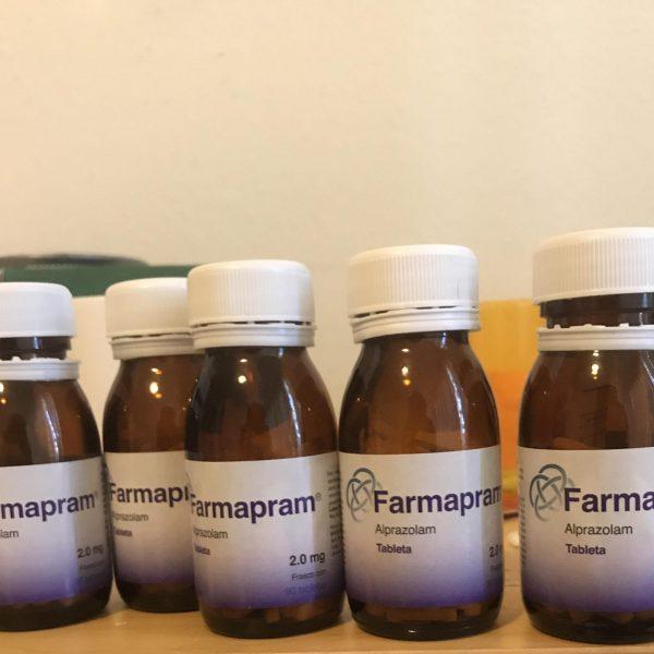 Name: Farmapram Generic name: Alprazolam Strength: 2mg