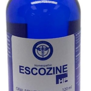 Name: Escozine blue scorpion Generic name: blue scorpion Package: 120 Ml Bottle