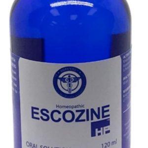 Name: Escozine blue scorpion Generic name: blue scorpion Package: 120 Ml Bottle